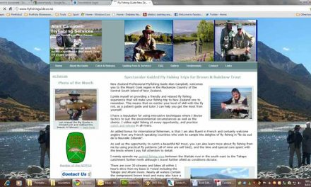 Alan Campbell (Bi-lingual Fly Fishing Guide, Mackenzie Country NZ)