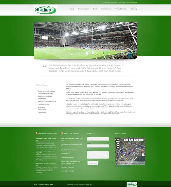 Stadium Sports Bar, Dunedin