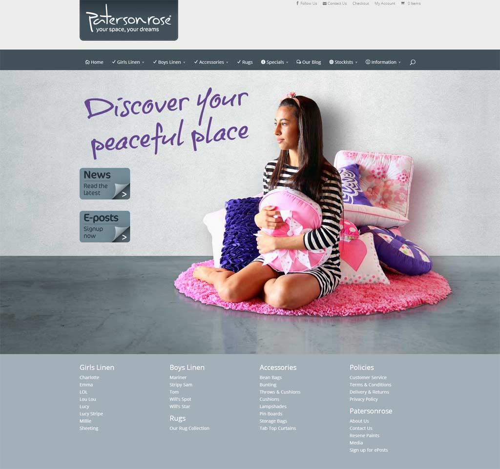 Patersonrose – Websites Consolidation & Rebuild