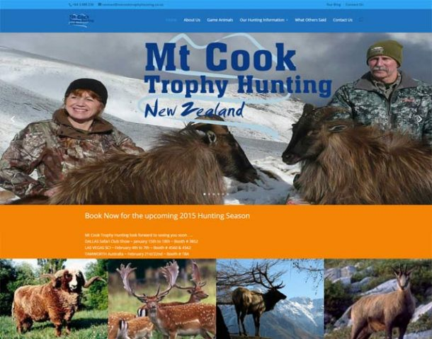 Mt Cook Trophy Hunting