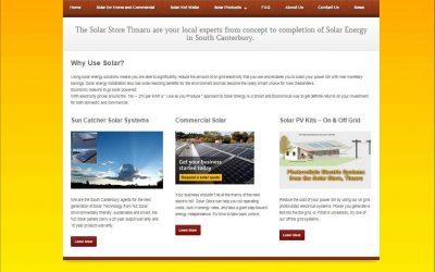 The Solar Store Timaru upgrades