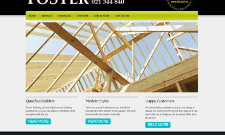 Foster Building Website