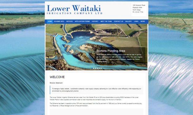 The Lower Waitaki Irrigation Company