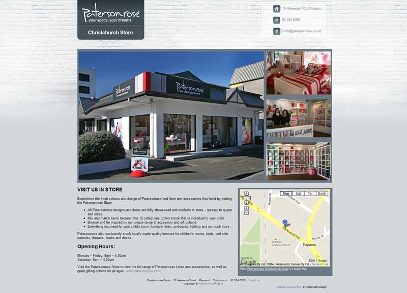 Patersonrose Christchurch Opens