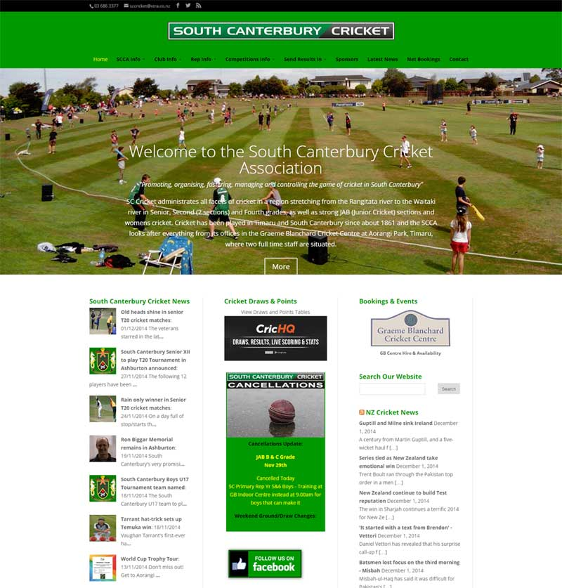 South Canterbury Cricket