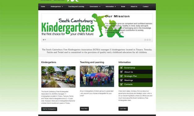 South Canterbury Free Kindergarten Assn Goes Green