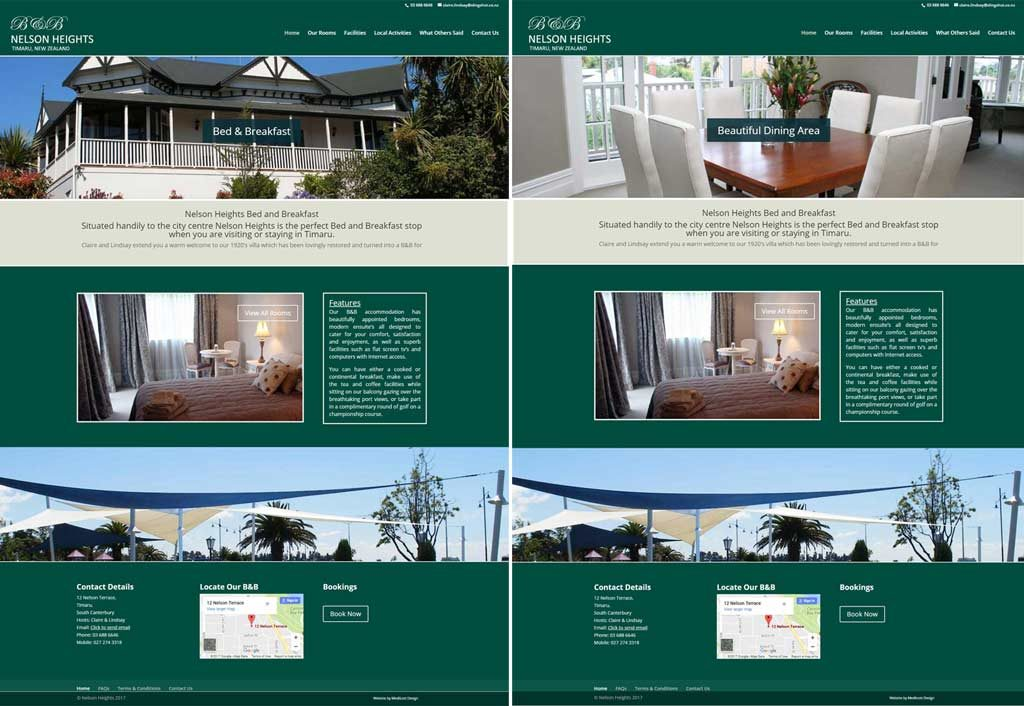 Nelson Heights Bed & Breakfast, Timaru