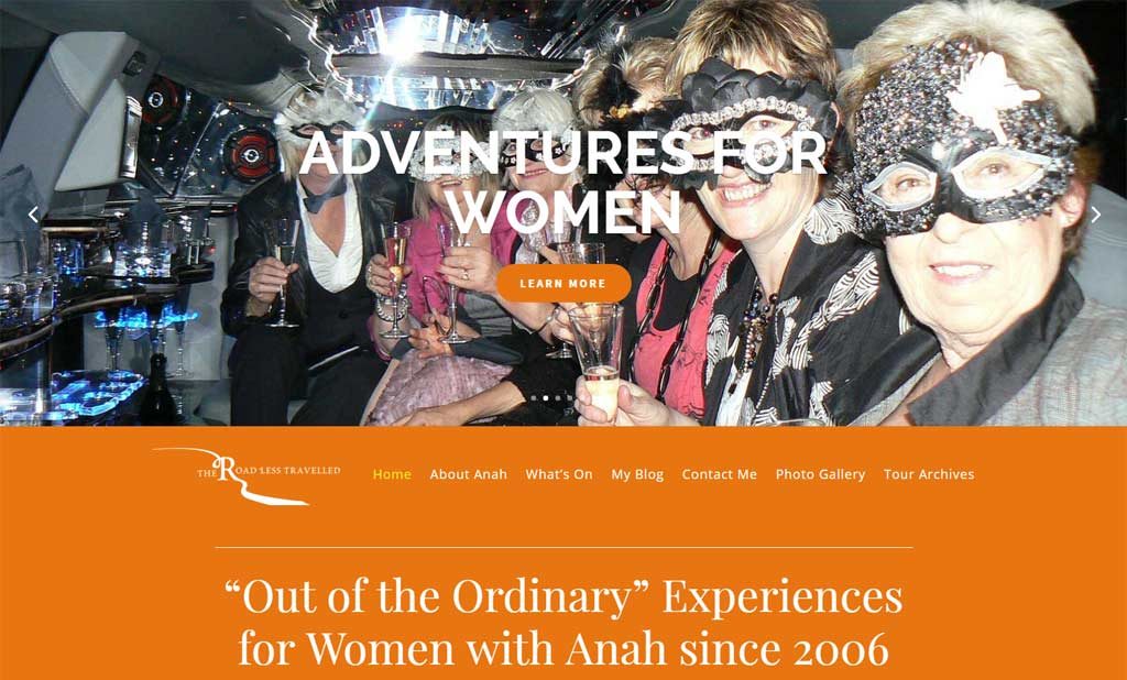 The Road Less Travelled with Anah 2017