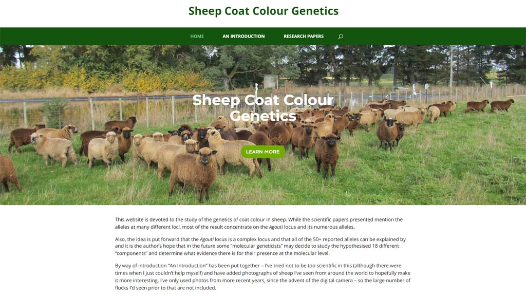 Sheep Coat Colour Genetics