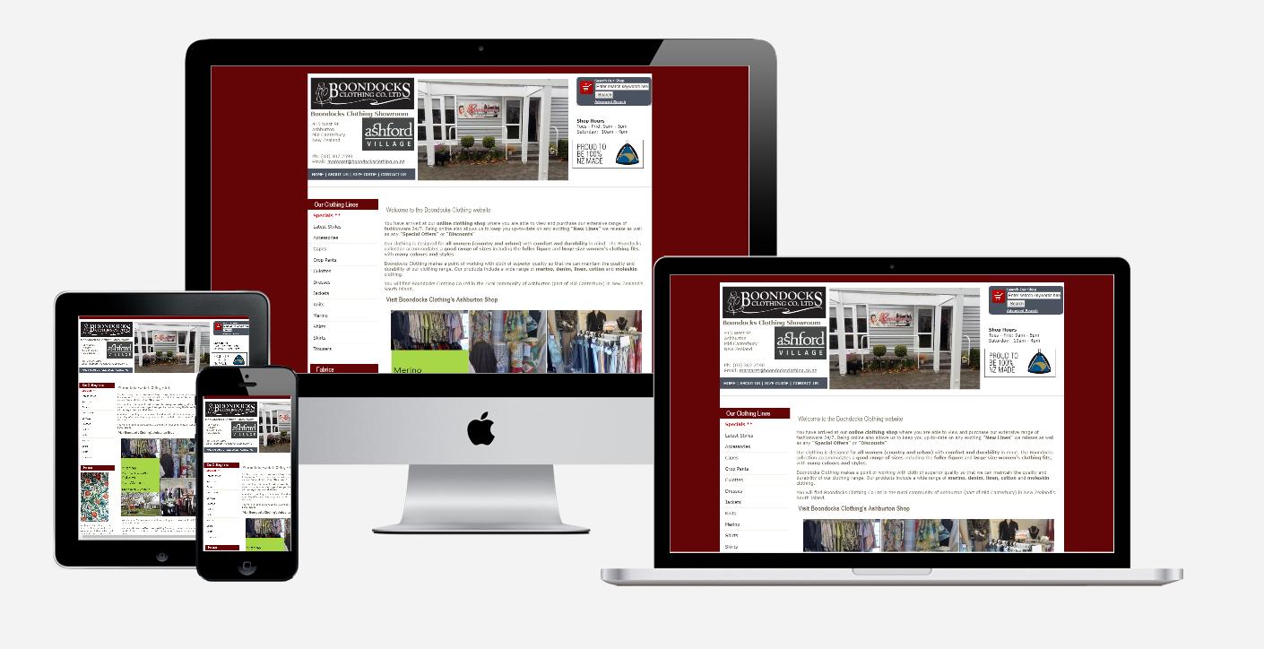 Boondocks Clothing - Old Website