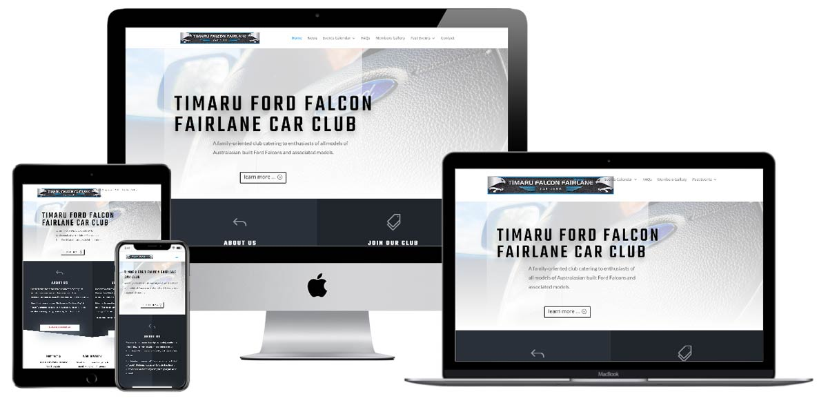 Timaru Ford Falcon Fairlane Car Club